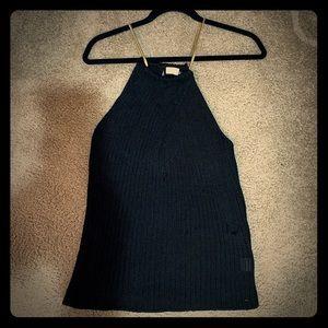 Knit Black Glam Tank